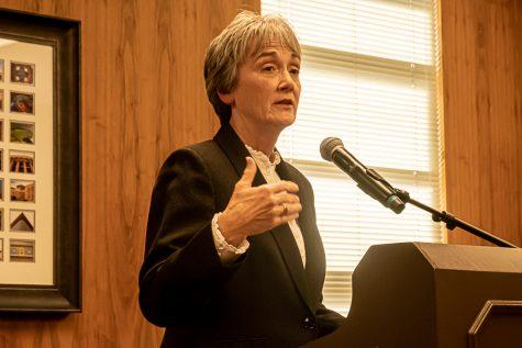 UTEP President Heather Wilson