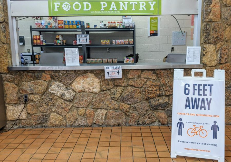 Food Pantry at UTEP continues serving students