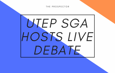 UTEP's Student Government Association (SGA) hosted a Facebook Live debate considering the COVID-19 pandemic for candidates vying for executive positions.