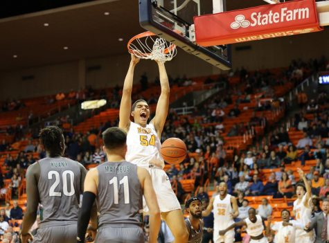 """I want to be a mentor, coach and teacher in the El Paso community,"" Rhyanes told The Prospector. ""My time at UTEP has been amazing, to be able to stay in my community to play for a storied program like the Miners has been a dream come true."""