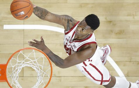 Incoming Miner and former Oklahoma Sooner point guard  Jamal Bieniemy drives to the basket.