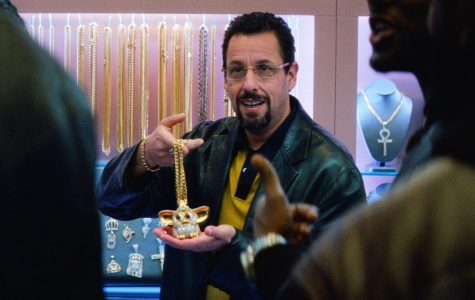 Adam Sandler stars in the 2019 film Uncut gems currently streaming on Netflix