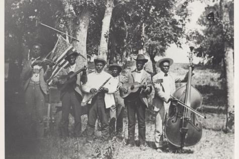 Celebration band, June 19, 1900