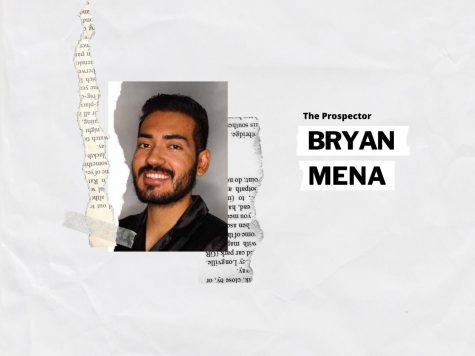 Bryan Mena is a political science student at the University of Texas at El Paso. He is The Prospector