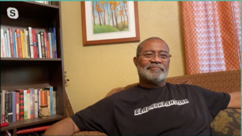"Ron Stallworth, author of the New York Times Best Selling book ""Black Klansman: A Memoir,"" spoke about police brutality with UTEP's Humanities Program on July 24, 2020."