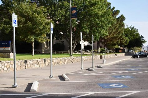 UTEP's ADA parking fee for the 2019-2020 school year cost $500 and $250 fee for employees and students respectively.