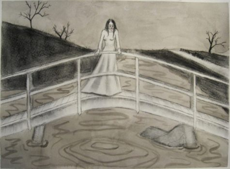 In Hispanic American folklore, La Llorona is a ghost who roams waterfront areas mourning her drowned children. In a typical version of the legend, a woman named Maria marries a rich man with whom she has two children. Photo courtesy of Wikipedia.  Photo courtesy of Wikipedia