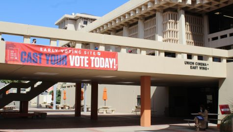 UTEP's Union East Building was a site for early voting from Oct.13-30.