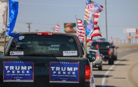 "On Oct. 3, the ""Trump Train"" made its way along I-10 in support of President Donald Trump and Republican candidates."