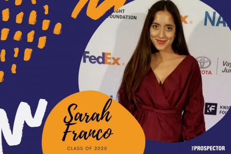 Sarah Franco is graduating from UTEP and she aspires for a career in journalism.
