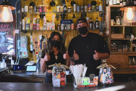 Joe Vinny & Bronsons Bohemian Café owner Christina Estrada implemented several safety measures such as switching from silverware to disposable utensils within her café prior to the citywide shutdown.