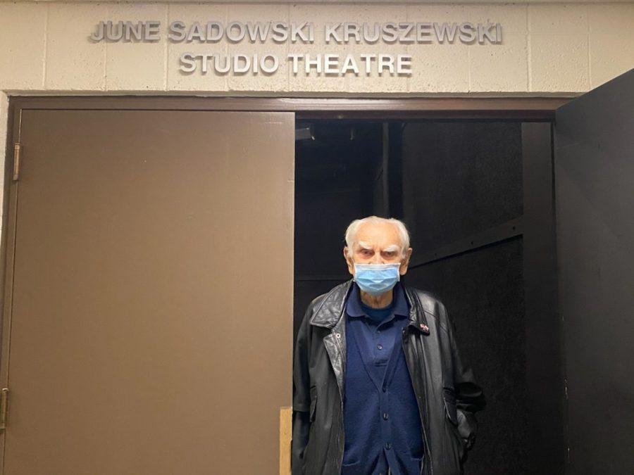 "UTEP donor and emeritus political science professor, Z. Anthony ""Tony"" Kruszewski, names Studio Theatre on behalf of his wife, June Sadowski Kruszewski."