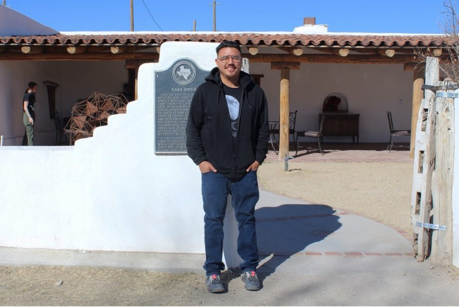 Diego Martinez, co-founder and artist, spends most of his time at Casa Ortiz Gallery. He has taught art courses for children and regularly attends art events throughout the city.