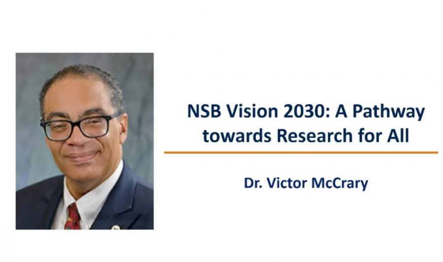 UTEP presents the National Science Board Vision 2030