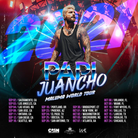 Maluma's latest tour, Papi Juancho World Tour 2021, will be his fourth. He will be touring in twenty four different cities across the U.S.