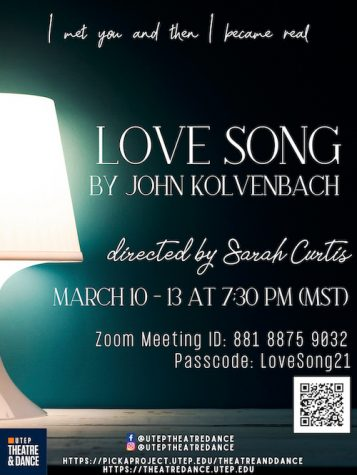 UTEP's theatre department displays connectivity with 'Love Song'