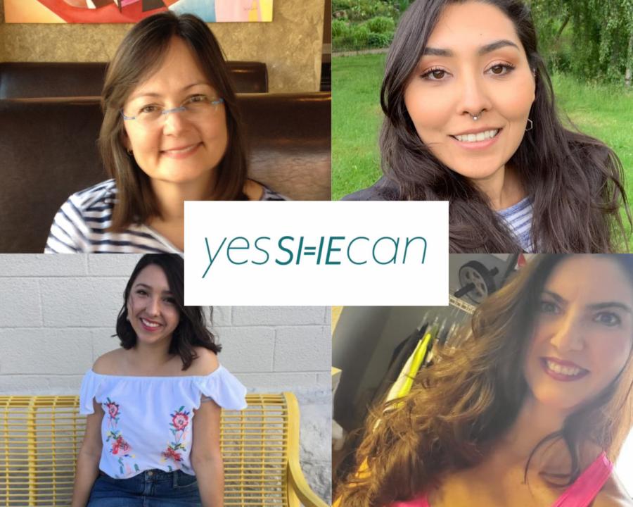 Top Left: Diane Golding. Top Right: Sarah Huizar. Bottom Left: Karla Ayala. Bottom Right: Crystal Cholewa.