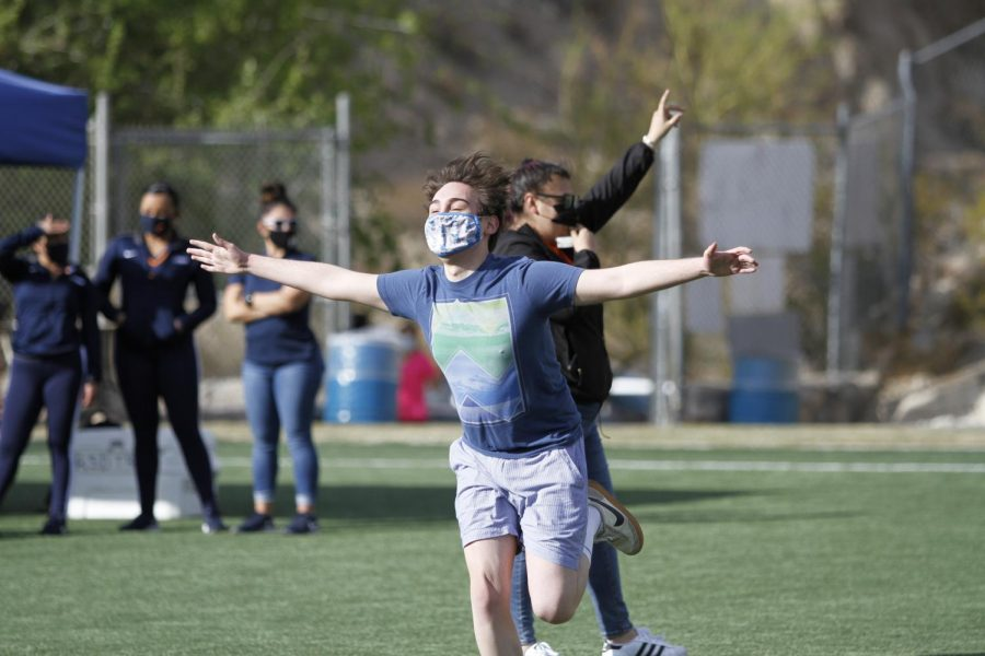 """""""Spring Fest is the first big in-person event held by UTEP. Photo by Albert Silva/The Prospector"""""""
