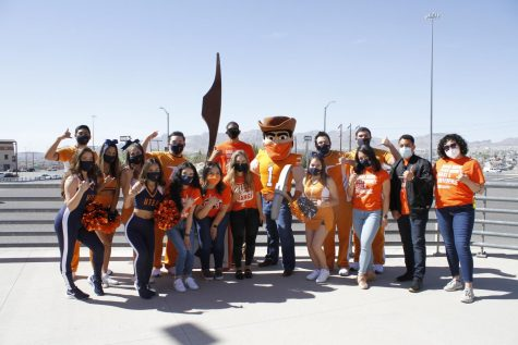 """UTEP SELC, in partnership with the Dean of Students and Spirit Operations, hosted Orange and Brew Coffee Tour on April 7,2021 at the bookstore."