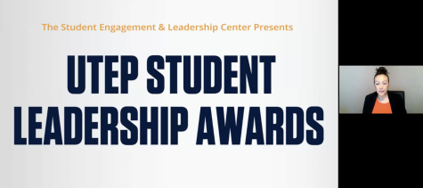 Nicole Aguilar, director at Student Engagement and Leadership Center kicked off UTEP