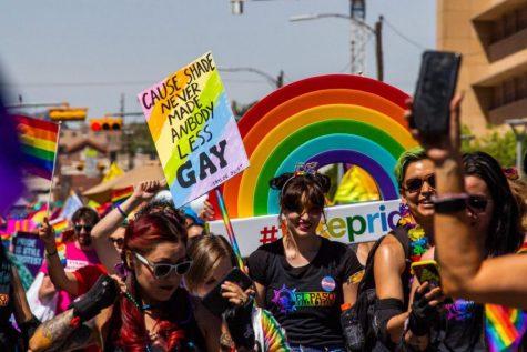 Pride parade celebration at Downtown El Paso, Saturday June 22nd 2019.