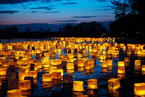Experience a magical night at the Water Lantern Festival