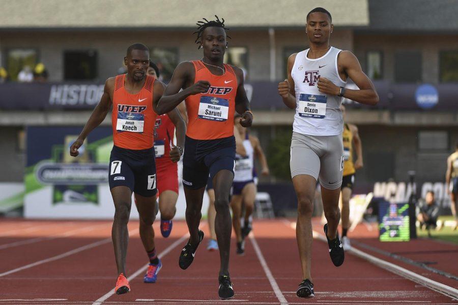 UTEP alumni Michael Saruni will represent Kenya at the 2021 Tokyo Olympics, competing in the 800 meter run.