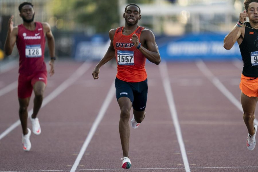 UTEP sprinter Sean Baily is representing his native country of Jamaica at the 2021 Tokyo Olympics in the 400 meter dash.