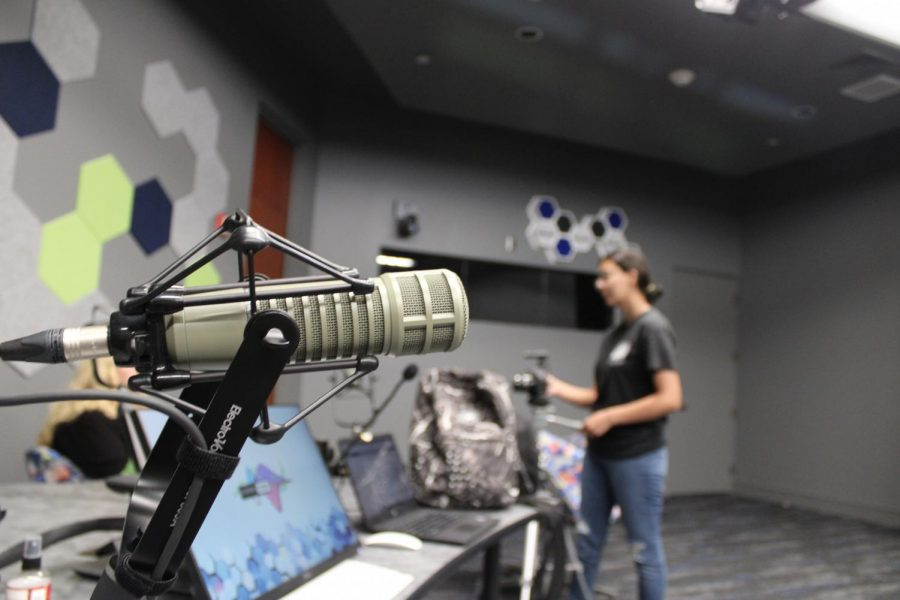 UTEP unveiled its new learning studio for multimedia productions July 5.