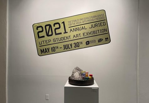 The Annual Juried UTEP student exhibition is open to the public from 10 am to 5 pm, Monday through Friday through July 30. People can go in groups of no more than 10.