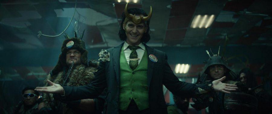 Loki (Tom Hiddleston) in Marvel Studios Loki exclusively on Disney+.
