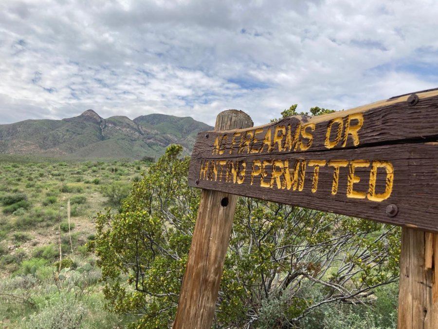 The Tin Mine trail takes the explorer through the desert terrain of the Franklin mountains.