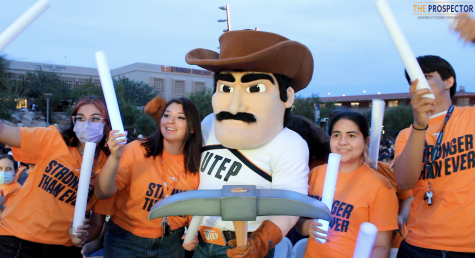 UTEP's Texas Western Gold Rush welcomes students back to campus