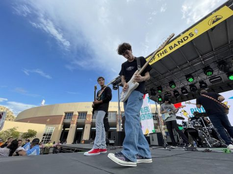 Rivers Ventura performed at Battle of the Bands, and won, at this year's Minerpalooza celebration to welcome students back to campus for the 2021-2022 academic year.