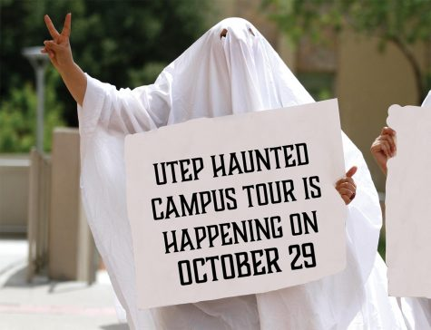 The UTEP Haunted Campus tour is happening on October 29, 2021.