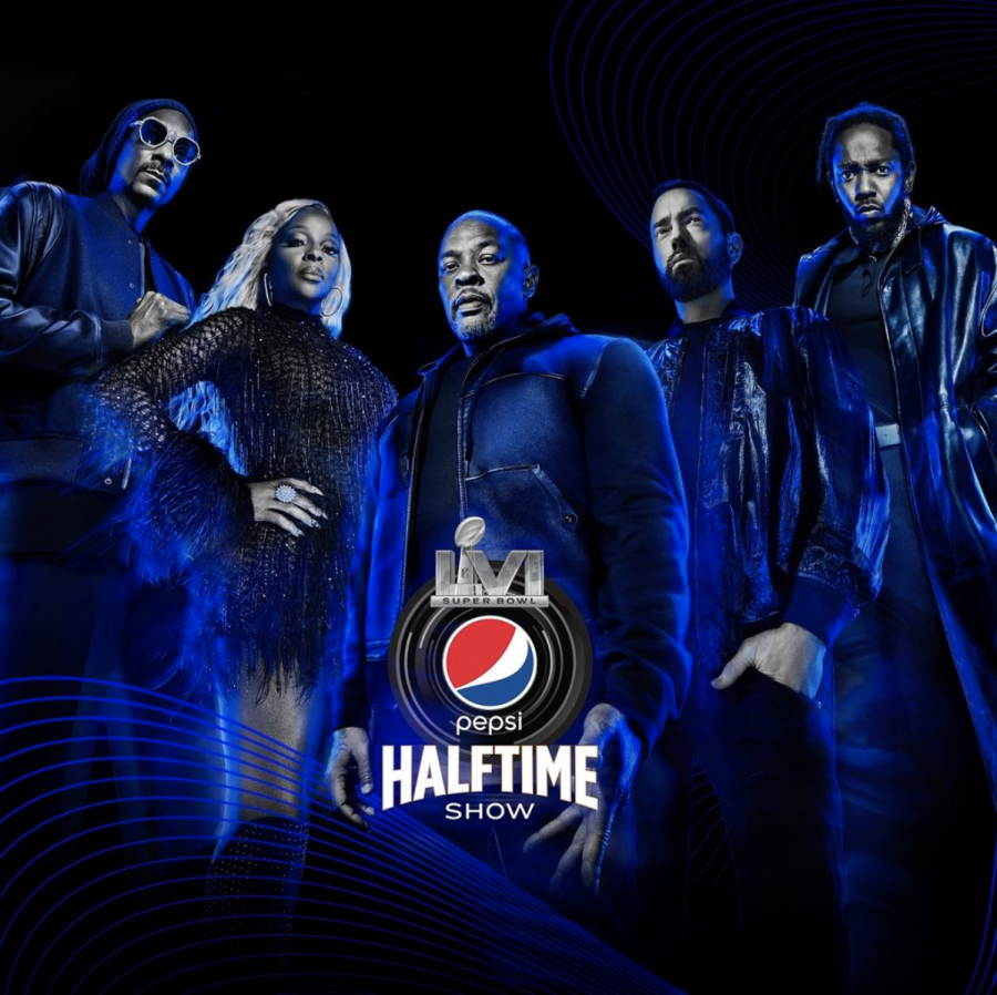 The NFL announced that Dr. Dre, Snoop Dogg, Eminem, Mary J. Blige, and Kendrick Lamar will be performing at the Super Bowl 56 Halftime Show.