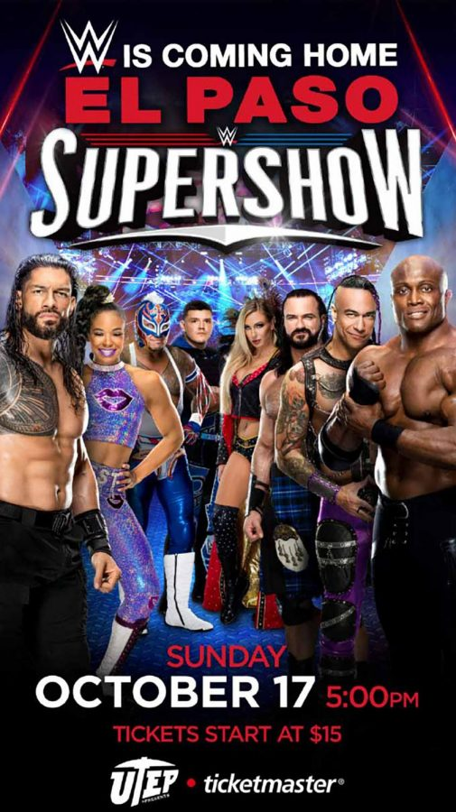 WWE Supershow is coming to El Paso on October 17 at the Don Haskins center.